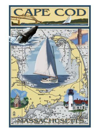 Cape Cod, Massachusetts Chart & Views