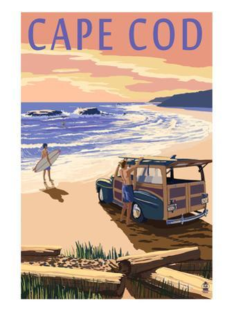 Cape Cod, Massachusetts - Woody on Beach