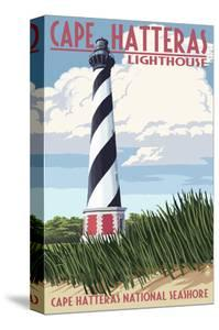 Cape Hatteras Lighthouse - Outer Banks, North Carolina by Lantern Press