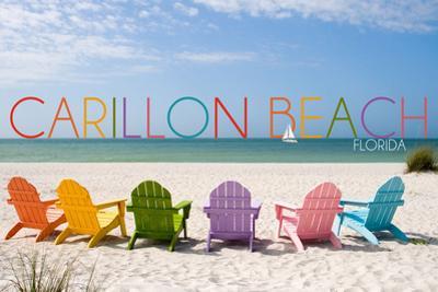 Carillon Beach, Florida - Colorful Beach Chairs