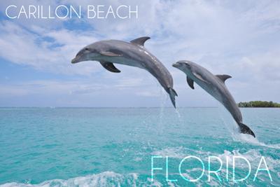 Carillon Beach, Florida - Jumping Dolphins