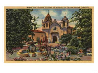 Carmel, CA - Mission San Carlos de Borromeo de Monterey