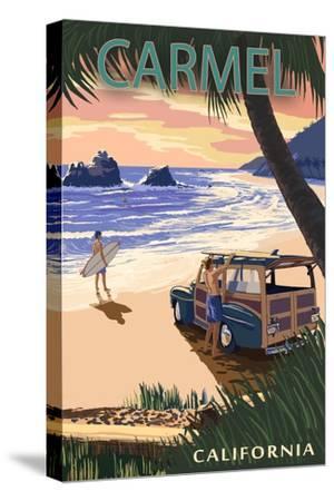 Carmel, California - Woody on the Beach