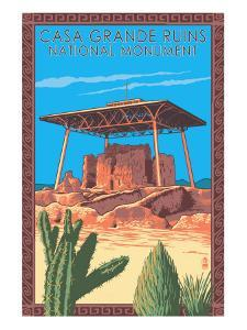 Casa Grande Ruins National Monument - Arizona by Lantern Press