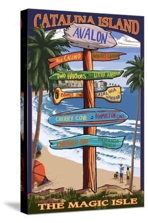 Catalina Island, California - Destination Sign #2