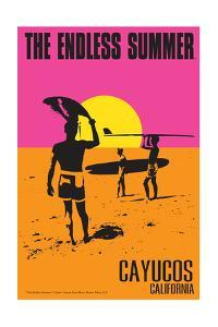 Cayucos, California - the Endless Summer - Original Movie Poster by Lantern Press