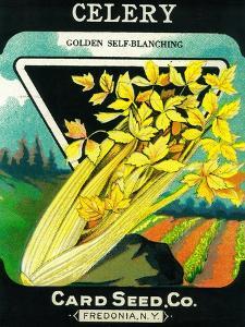 Celery Seed Packet by Lantern Press