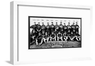 Chicago, IL, Chicago White Sox, Team Photograph, Baseball Card