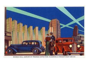 Chicago, Illinois - Science Hall at World's Fair by Lantern Press