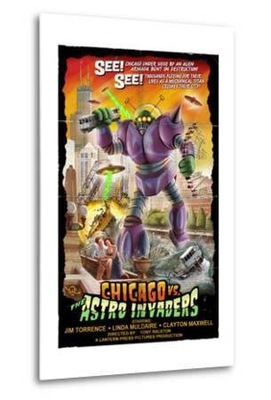 Chicago Versus Astro Invaders by Lantern Press