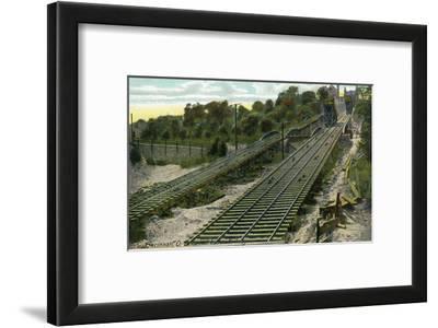 Cincinnati, Ohio - View of the Price Hill Incline Railway