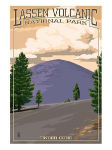 Cinder Cone - Lassen Volcanic National Park, CA by Lantern Press