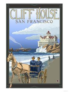 Cliff House, San Francisco, California by Lantern Press