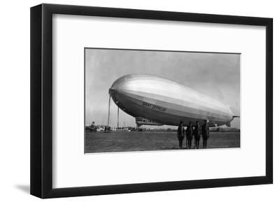 Close-Up Graf Zeppelin Blimp View