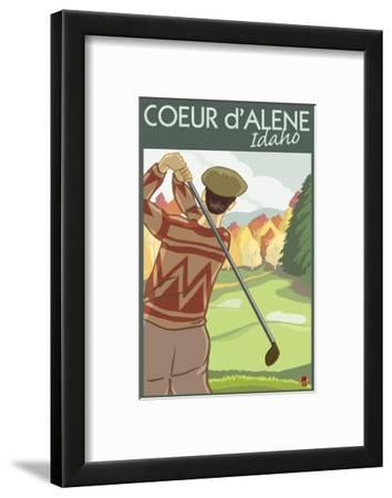 Coeur D'Alene, Idaho - Golfer