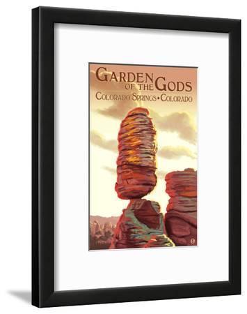 Colorado Springs, Colorado - Garden of the Gods, Balanced Rock