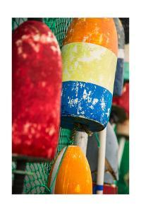 Colorful Bouys by Lantern Press