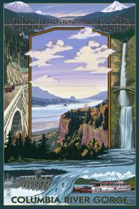 Columbia River Gorge Views, c.2009 by Lantern Press