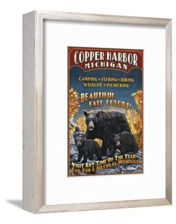 Copper Harbor, Michigan - Black Bears