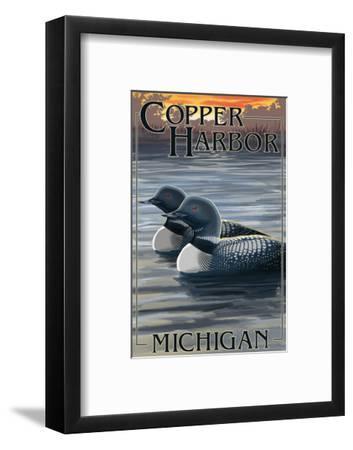 Copper Harbor, Michigan - Loon Family