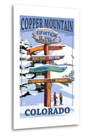 Copper Mountain, Colorado - Ski Signpost
