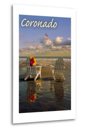 Coronado, California - Adirondack Chairs on the Beach