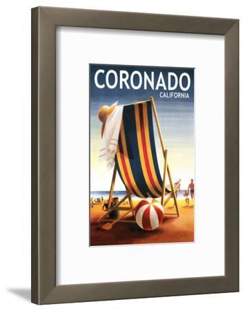 Coronado, California - Beach Chair and Ball