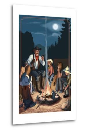 Cowboy Campfire Story Telling