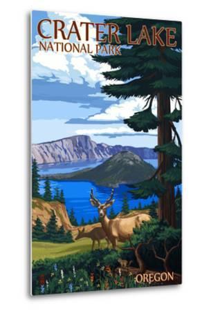Crater Lake National Park, Oregon - Deer Family