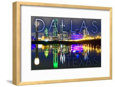 Dallas, Texas - Skyline at Night