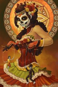 Day of the Dead - Marionettes by Lantern Press