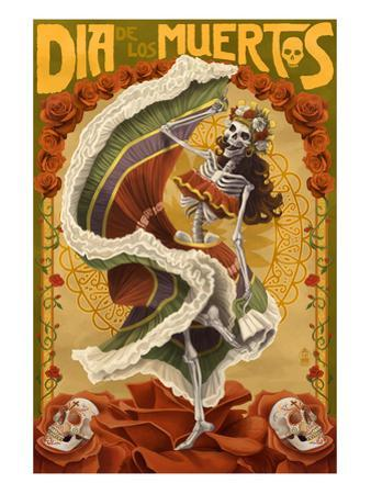 Day of the Dead - Skeleton Dancing