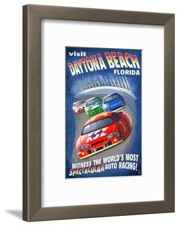 Daytona Beach, Florida - Racecar Scene