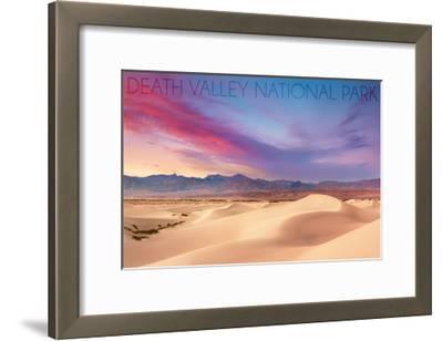 Death Valley National Park - Mesquite Dunes