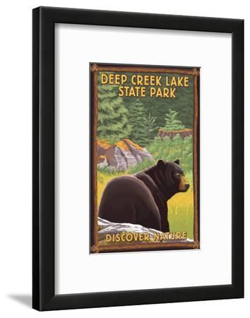 Deep Creek Lake State Park, Maryland - Bear in Forest