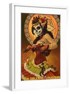 Dia De Los Muertos Marionettes - New Orleans, Louisiana by Lantern Press