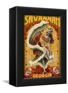 Dia De Los Muertos - Savannah, Georgia by Lantern Press