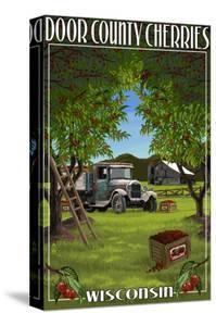Door County, Wisconsin - Cherry Harvest by Lantern Press
