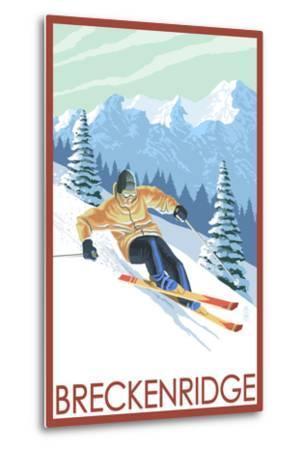 Downhill Skier - Breckenridge, Colorado