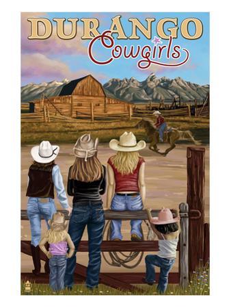 Durango, Colorado - Cowgirls