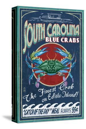 Edisto Beach, South Carolina - Blue Crabs