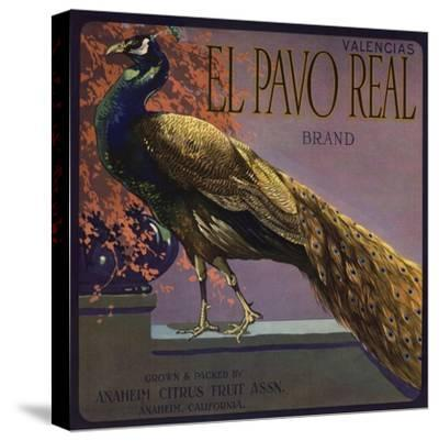 El Pavo Real Brand - Anaheim, California - Citrus Crate Label