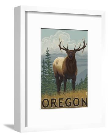 Elk Scene - Oregon, c.2009