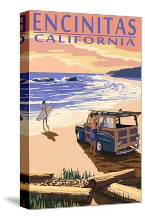 Encinitas, California - Woody on Beach
