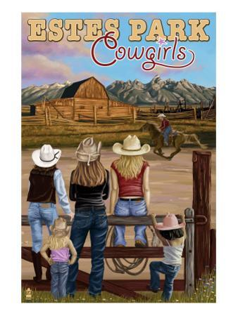 Estes Park, Colorado - Cowgirls
