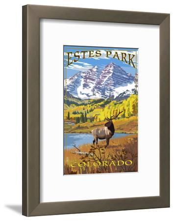 Estes Park, Colorado - Mountains and Elk