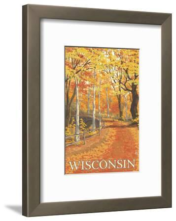 Fall Colors Scene - Wisconsin