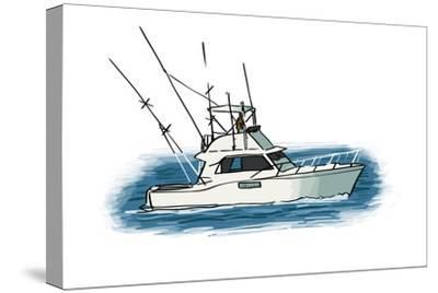 Fishing Boat - Icon