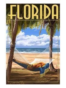 Florida - Hammock Scene by Lantern Press