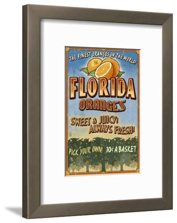 Florida - Orange Orchard Sign